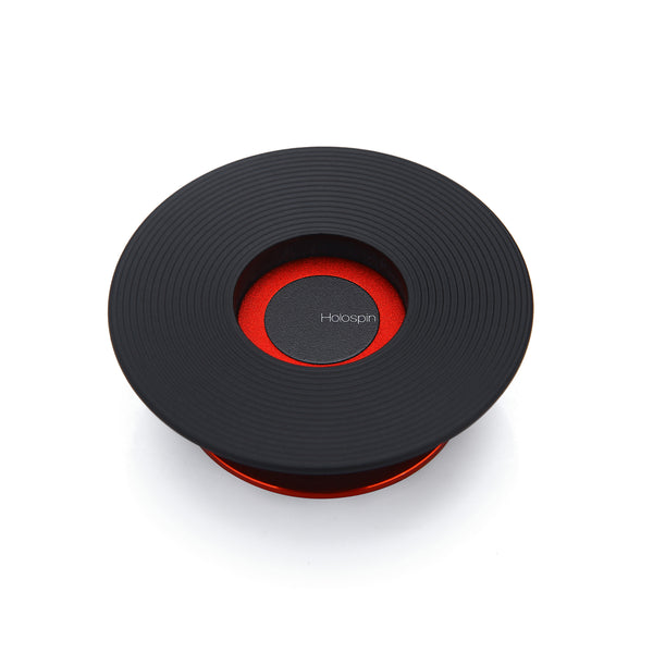 Holospin Black Red Ring