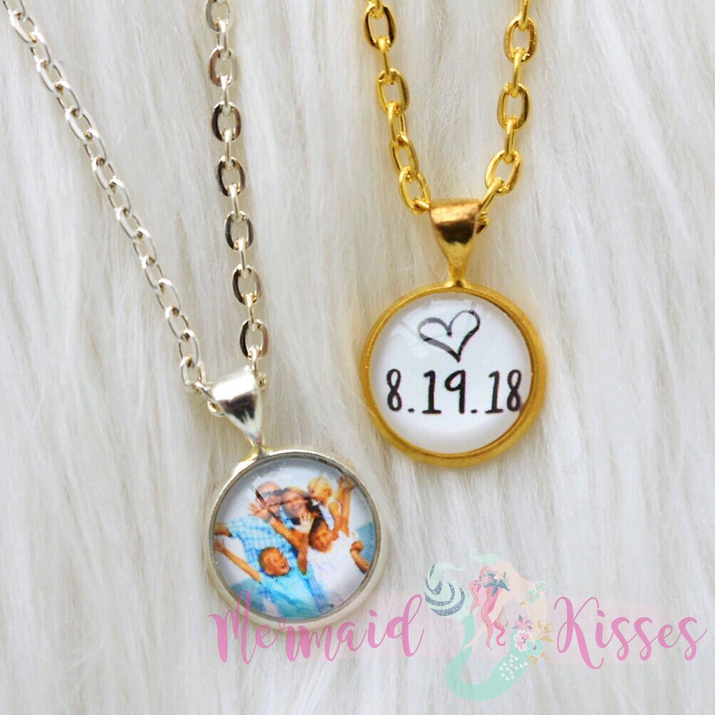 Small Photo Necklace