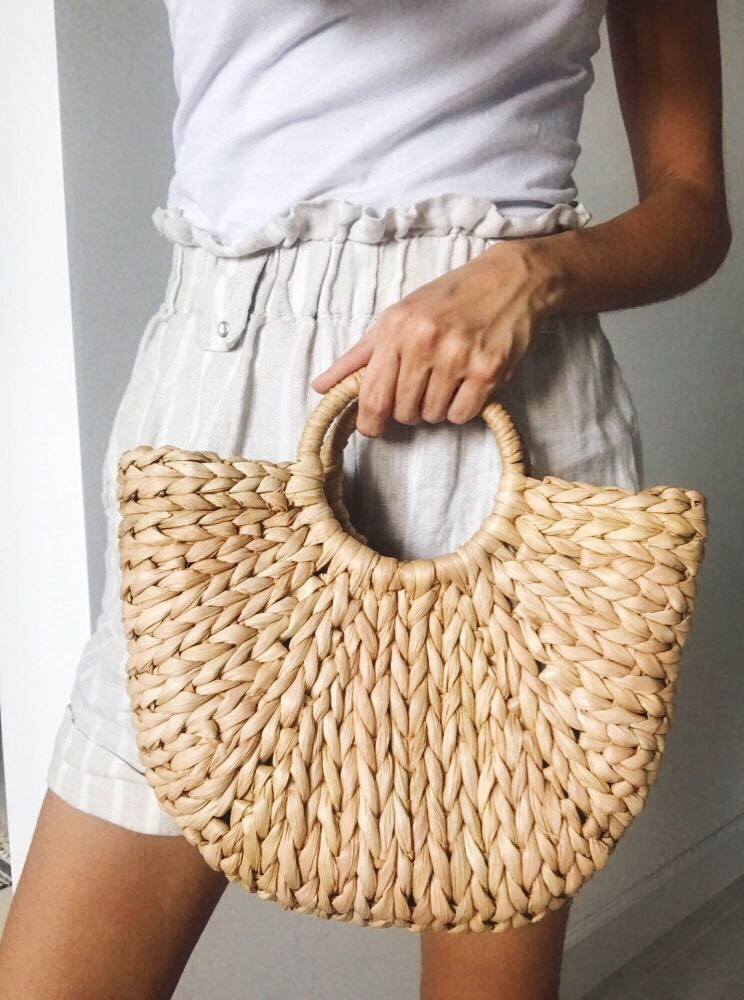 Bora Straw Bag