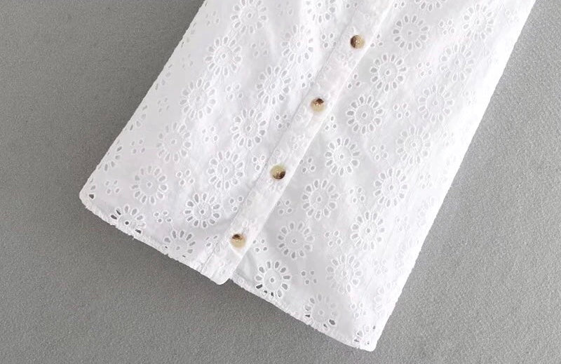 White Eyelet Sundress