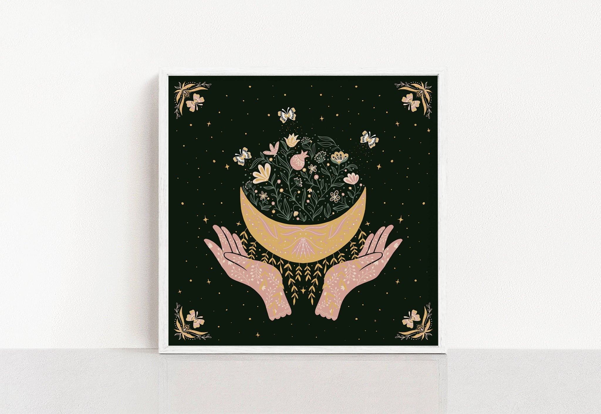 Blossoming  Moon Giclee Print