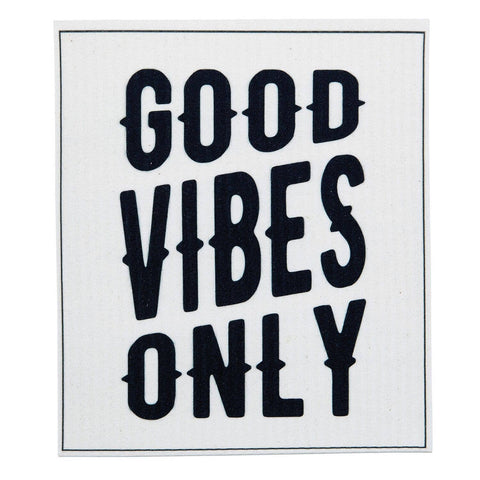 GOOD VIBES ORGANIC DISHCLOTH