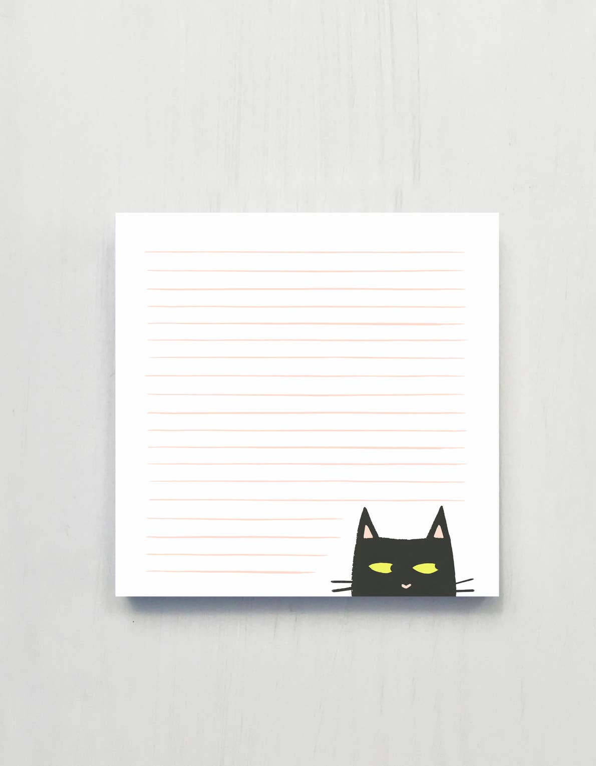 Shifty Cat Deskpad - 200 Sheets