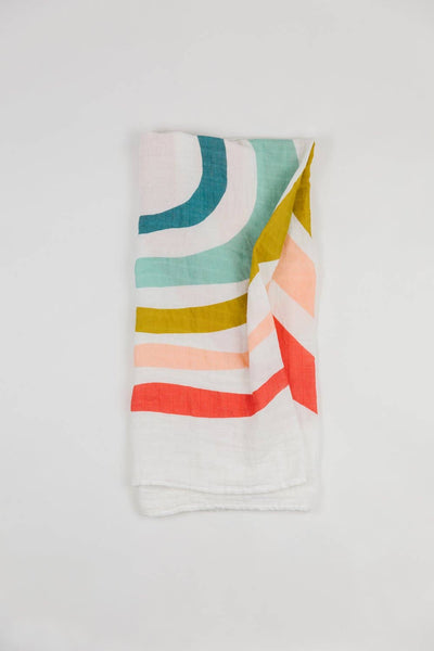 Rainbow Cotton Swaddle
