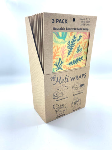 Meli Wraps 3 Pack in Reef Print