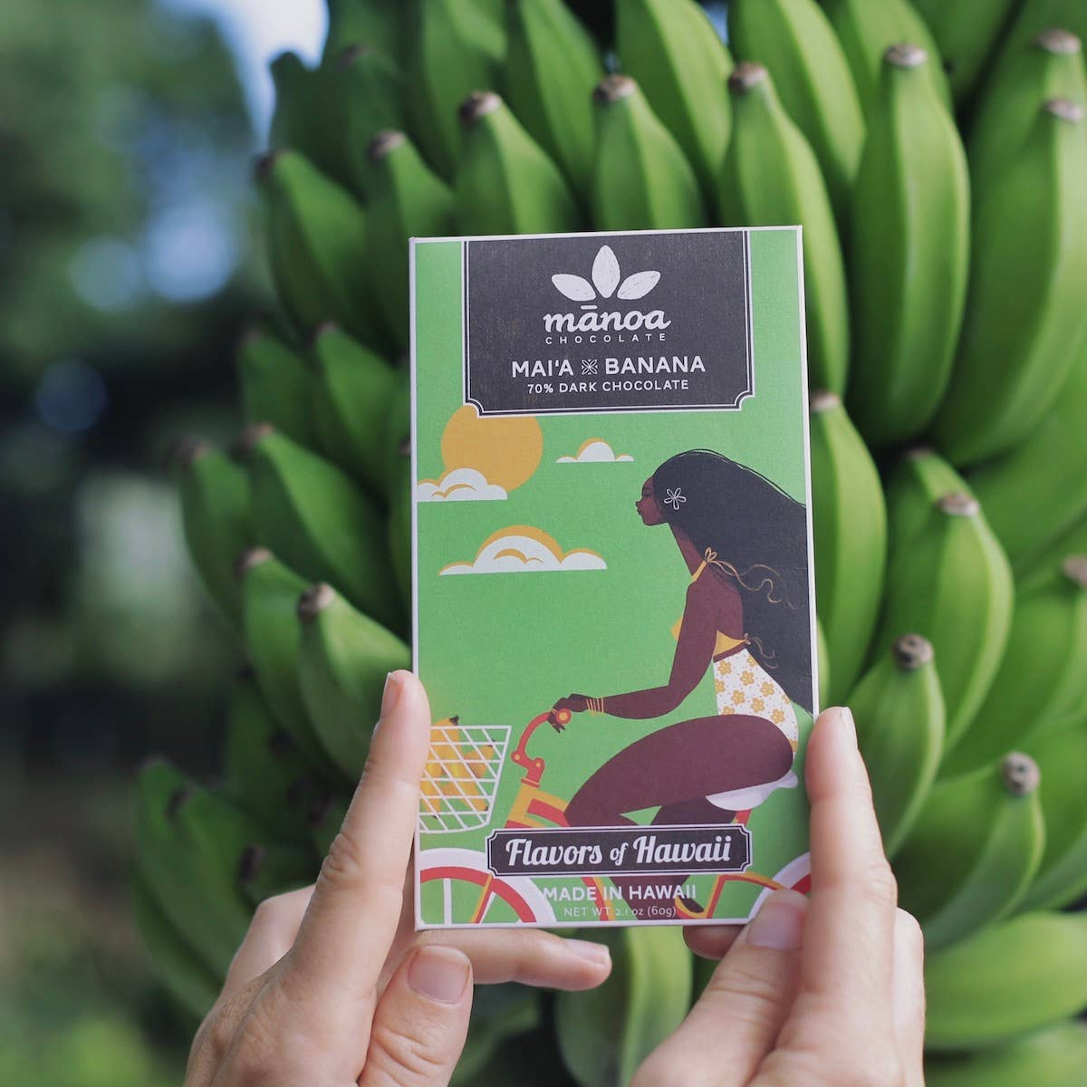 Mai'a x Banana: 70% Dark Chocolate