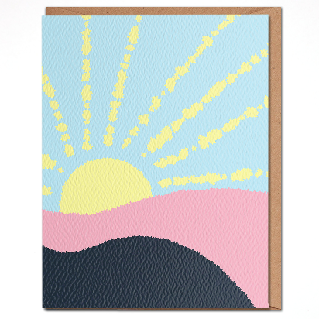 Blank Sunshine Card
