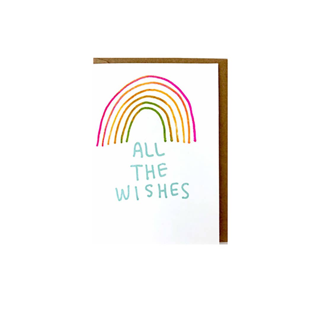 MINI CARD - ALL THE WISHES