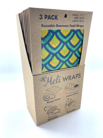 Meli Wraps 3 Pack in Scales Print