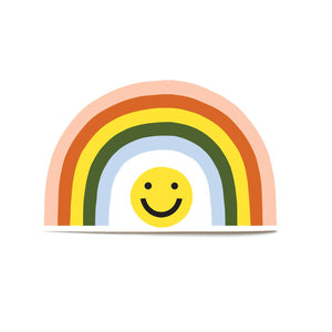 Smile Rainbow Die Cut Sticker