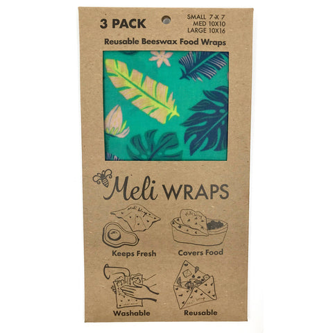 Meli Wraps 3-pack in lau print