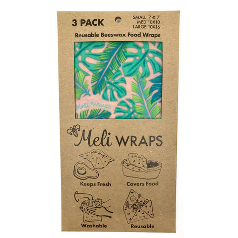 Meli Wraps 3-pack in Kahanu print