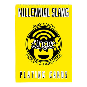 MILLENNIAL SLANG PLAYING CARDS