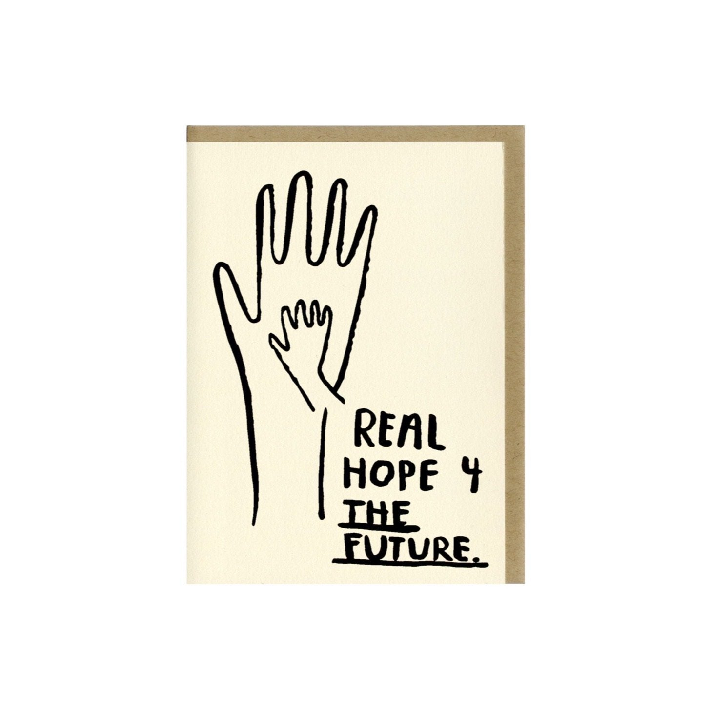REAL HOPE 4 THE FUTURE BABY CARD