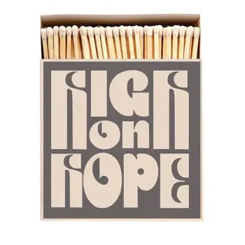 High Is Hope Match Box
