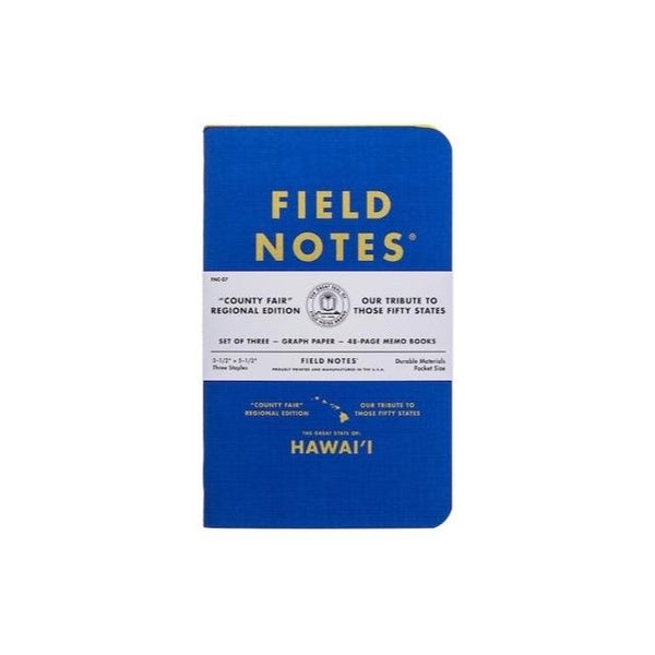 FIELD NOTES HAWAII 3-PACK
