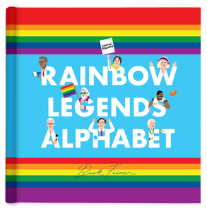 Rainbow Legends Alphabet Book