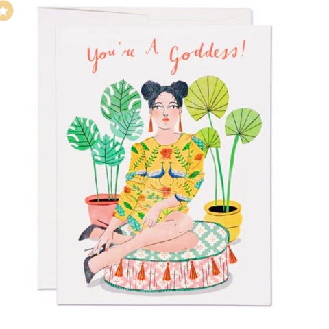 CUSHION GODDESS CARD