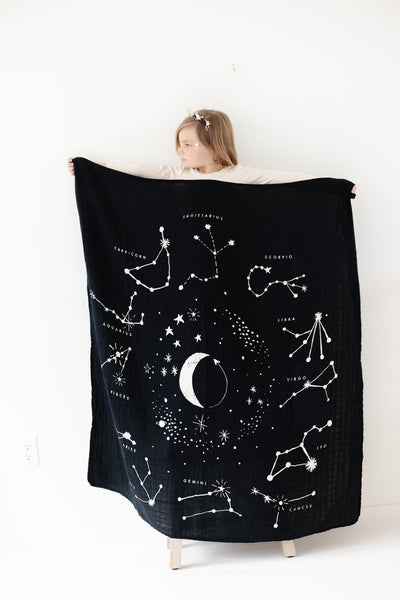 Astrology Cotton Baby Quilt