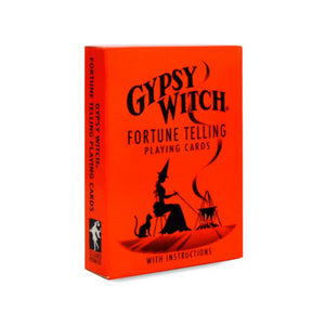 GYPSY WITCH FORTUNE PLAYING CARDS