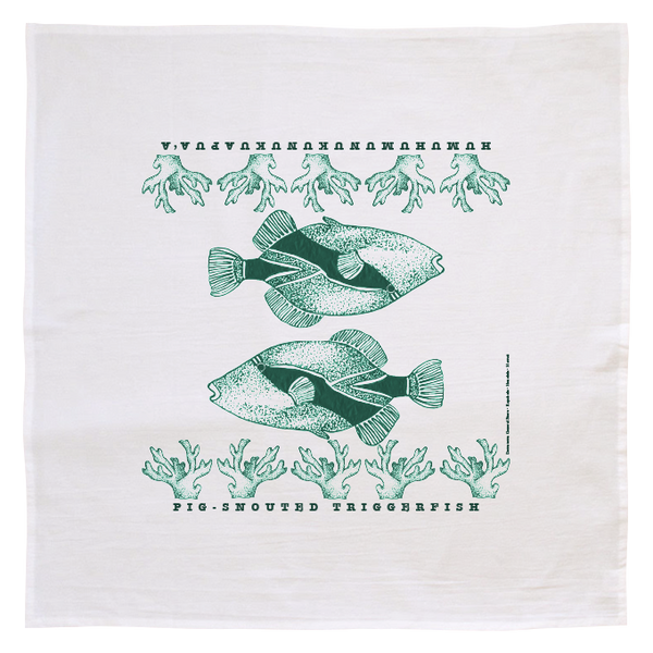 Hand Screened Flour Sack Towels Made in Hawaii