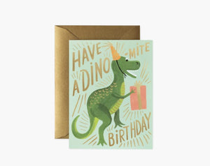Dino Birthday Card