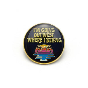 OUT WEST PIN