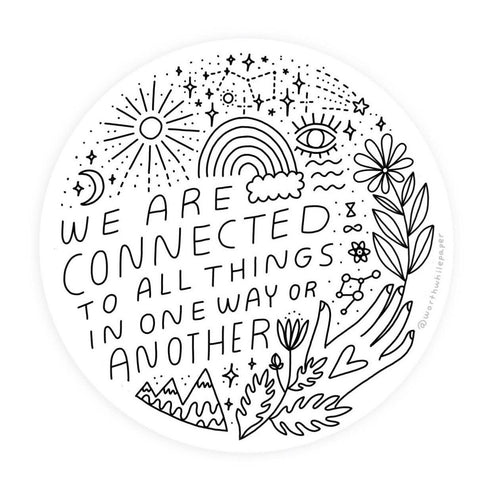 CONNECTED STICKER