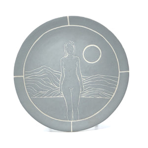 LADY DINNER PLATE