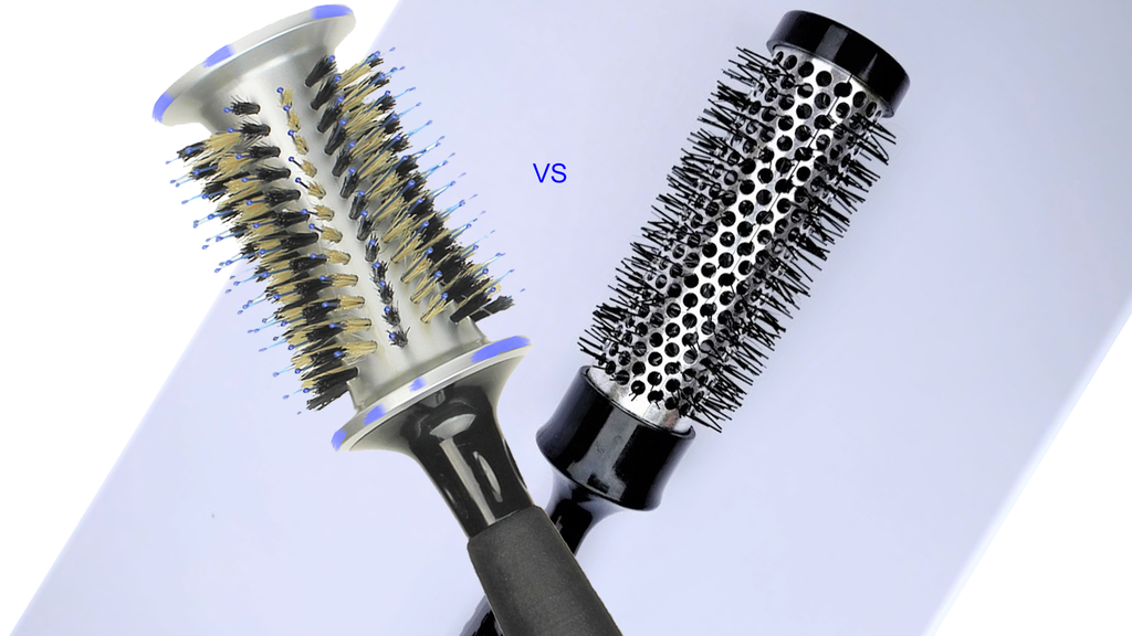 AERATED vs BOAR BRUSHES