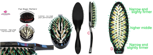 HOTHEADS HAIR BRUSH THERAPY