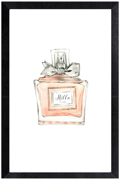 Print - personalised perfume bottle