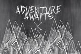 Print - adventure awaits