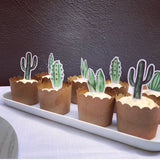 Cake - Cactus Cupcake Toppers