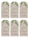 Gift Tags - Natural Vine