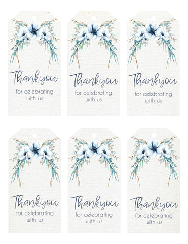 Gift Tags - anemone