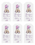 Gift Tags - Botanical teepee