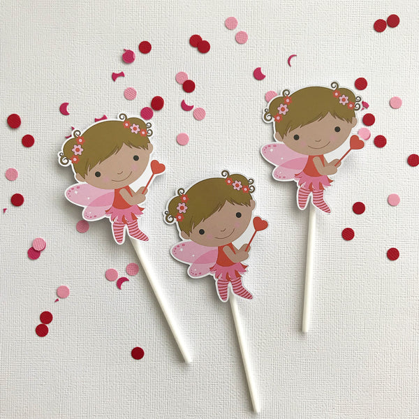 Cake - cupcake toppers - fairy