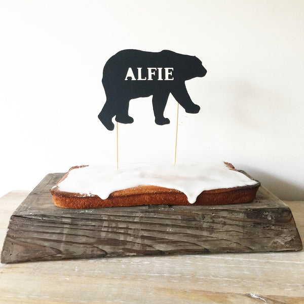 Cake Topper - the bear