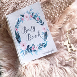 Book - wildflower baby book