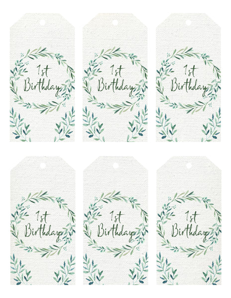 Gift Tags - natural minimalist