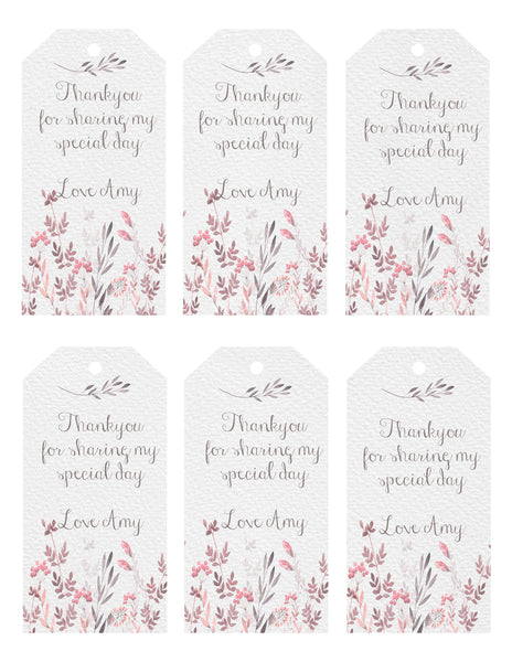 Gift Tags - Wildflower