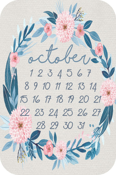 Calendar Month - wildflower