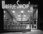 Waffle Shop on 10th Street in Washington D.C.