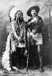Sitting Bull and Buffalo Bill.
