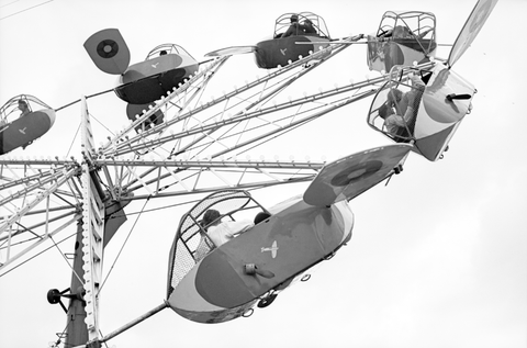 Brownsville, Texas. Carnival ride.