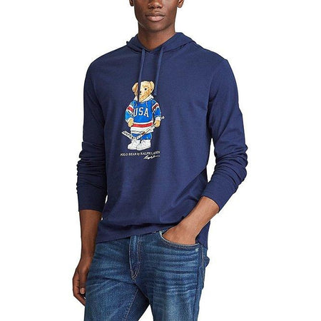 POLO RALPH LAUREN Polo Tigers Fleece Hoodie, Navy