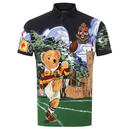 POLO RALPH LAUREN Classic Fit Polo Bear Print T-Shirt, White