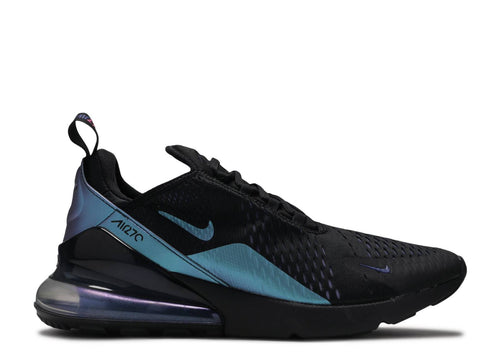 NIKE AIR MAX 270 BLACK/LASER FUSCHIA-REGENCY PURPLE