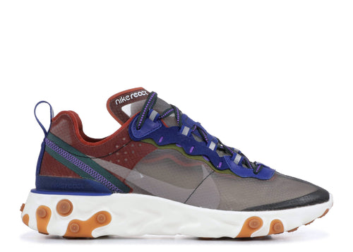 NIKE REACT ELEMENT 87 DUSTY PEACH/ATMOSPHERE GREY